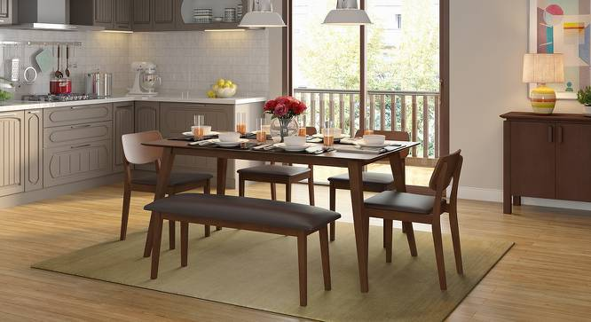Wondrous Lawson 6 Seater Dining Table Set With Bench Download Free Architecture Designs Scobabritishbridgeorg