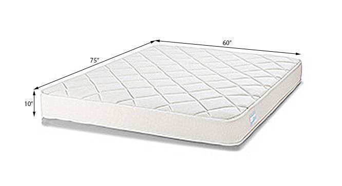 Cloud Pocket Spring Mattress with HD Foam (Queen Mattress Type, 75 x 60 in Mattress Size, 10 in Mattress Thickness (in Inches)) by Urban Ladder