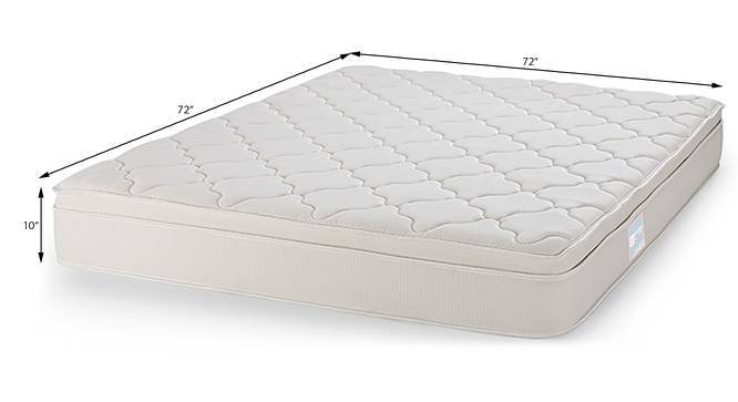 Cloud Pocket Spring Mattress with Memory Foam (King Mattress Type, 72 x 72 in Mattress Size, 10 in Mattress Thickness (in Inches)) by Urban Ladder