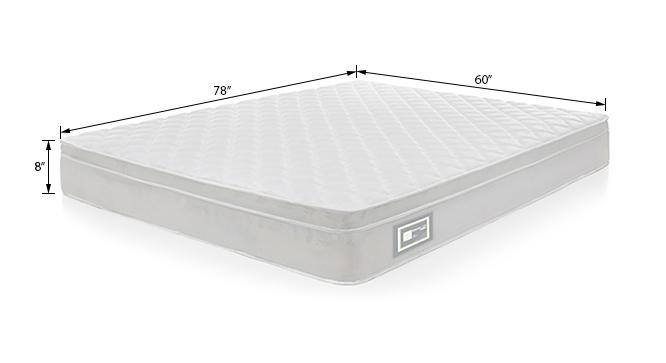 Dreamlite bonnel spring mattress with eurotops queen 8