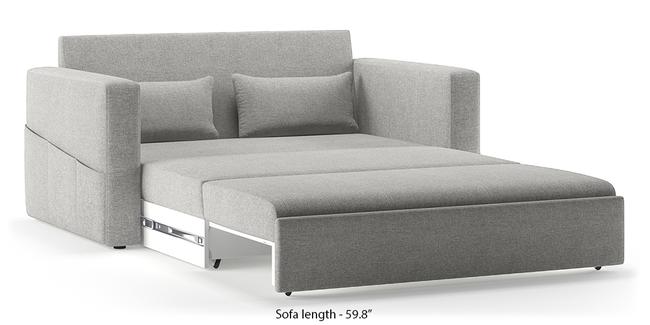 Camden Compact Sofa Cum Bed (Vapour Grey) (3-seater Custom Set - Sofas, None Standard Set - Sofas, Fabric Sofa Material, Compact Sofa Size, Regular Sofa Type, Vapour Grey)