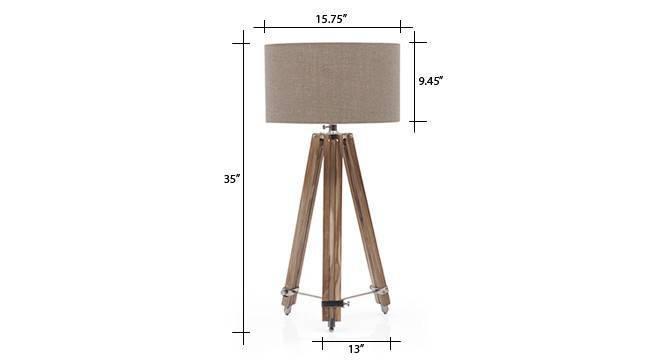 Kepler tripod floorlamp natural linen drum shade 8 img 0058 dm