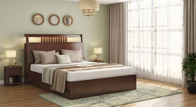 Amelia Smart Storage Bed With Headboard, Smart Bed Queen Size