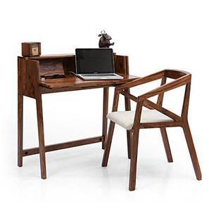 Rowling - Howe Study Sets (Teak Finish) by Urban Ladder