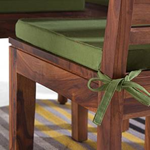 Puco Seat Cushions - Set of 2 (Avocado Green) by Urban Ladder