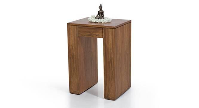 Epsilon Side Table (Teak Finish) by Urban Ladder