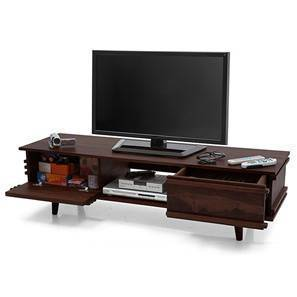 "Parker 57"" TV Unit (Mahogany Finish) by Urban Ladder"