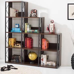 Delany Display Shelf (Wenge Finish) by Urban Ladder