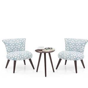 Robbins Lounge Set (Blue Lattice) by Urban Ladder