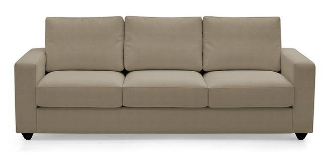 Apollo Leatherette Sofa (Cappuccino) (Cappuccino, Leatherette Sofa Material, Regular Sofa Size, Regular Sofa Type)