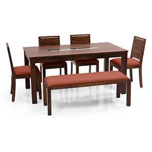 Brighton oribi 4 seater upholstered bench dining table set tk bo 00 lp