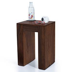 Epsilon Side Table (Mahogany Finish) by Urban Ladder