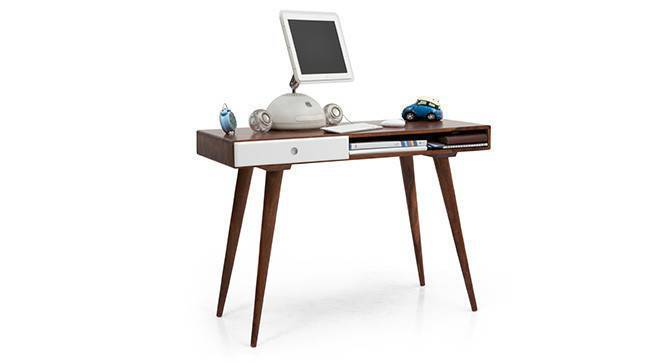 Roswell Study Desk (White) by Urban Ladder