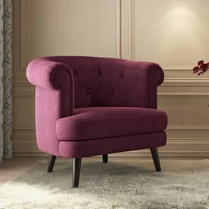 Bardot lounge chair wine lp