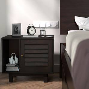 Terence Bedside Table (Mahogany Finish) by Urban Ladder