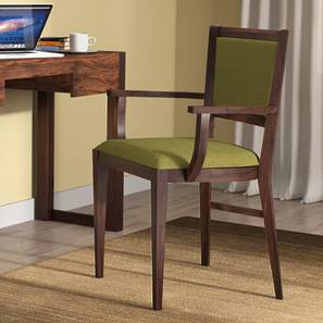 Comfortable Chairs For Studying Intended Aurelio Study Chair mahogany Finish Olive By Urban Ladder Online Check Chairs Designs Price Buy