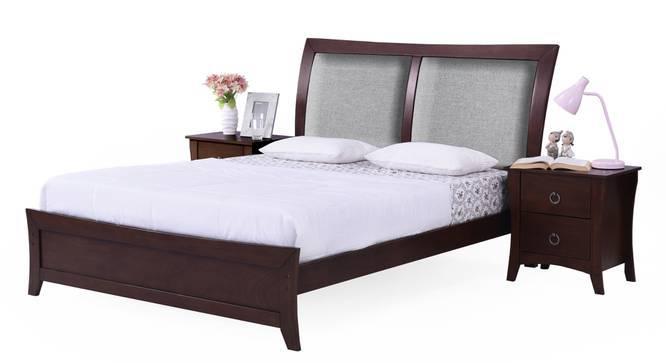 Packard Essential Bedroom Set (King Bed Size, Dark Walnut Finish) by Urban Ladder