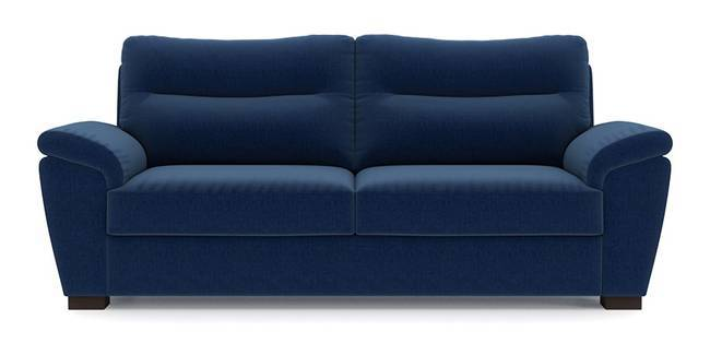 Adelaide Sofa (Cobalt Blue) (Cobalt, Fabric Sofa Material, Regular Sofa Size, Regular Sofa Type)