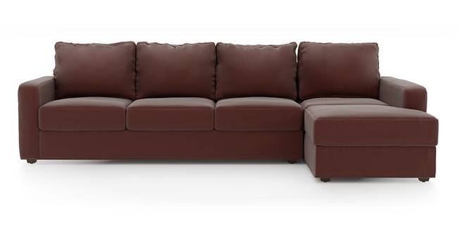 Apollo Sofa Set (Burgundy, Leatherette Sofa Material, Regular Sofa Size, Soft Cushion Type, Sectional Sofa Type, Sectional Master Sofa Component, Regular Back Type, Regular Back Height)
