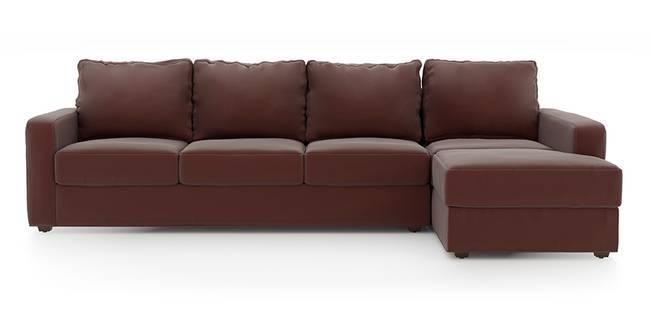 Apollo Sofa Set (Burgundy, Leatherette Sofa Material, Regular Sofa Size, Soft Cushion Type, Sectional Sofa Type, Sectional Master Sofa Component, Regular Back Type, Regular Back Height)