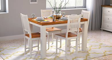 Dining Table Sets Buy Wooden Dining Sets Online At Best Prices Urban Ladder