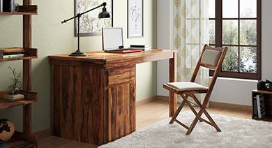 Solid wood study chairs