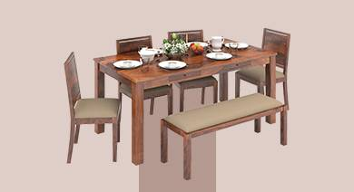 Dining Tables Upto 20 Off Buy Wooden Dining Table Sets Online Urban Ladder