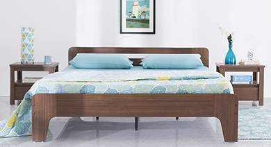 Bed Designs Buy Bed King And Queen Size Online Urban Ladder