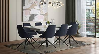 Caribu 8 seater dining table set